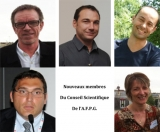 Nouveaux membres du Conseil Scientifique de l'A.F.P.G